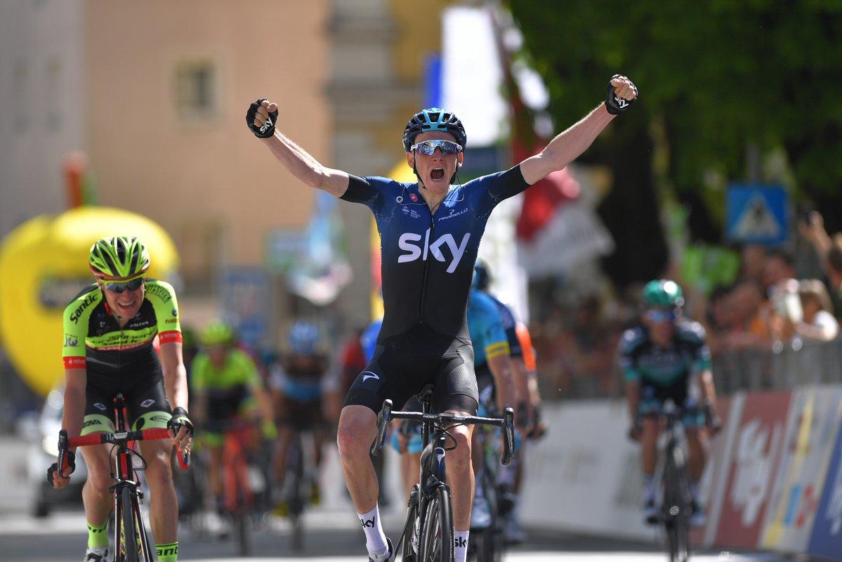 Geoghegan consiguió su primer triunfo como profesional.