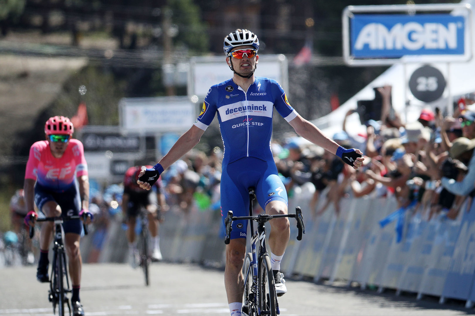 Asgreen ganó la segunda etapa del Tour de California. (Photo by Chris Graythen/Getty Images)