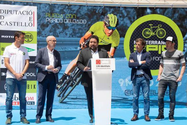 Nace la Gran Fondo Mediterranean Epic 2020 apadrinada por Perico Delgado