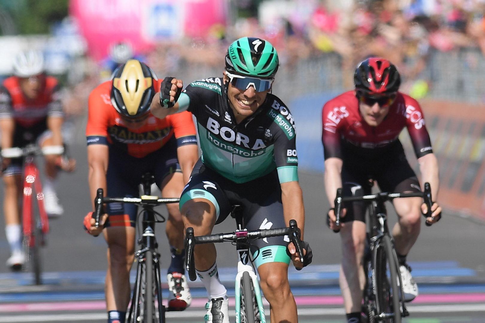 Benedetti logró el primer triunfo de su carrera en el Giro de Italia.