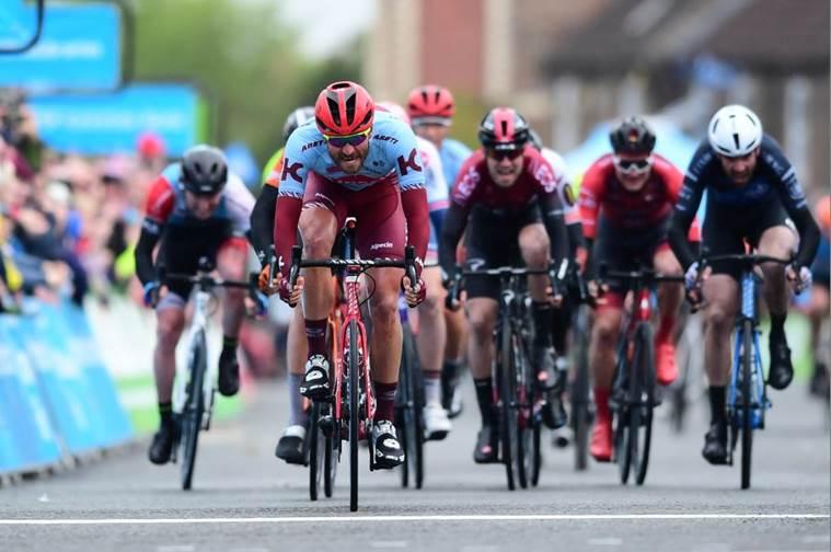 Zabel logró la segunda victoria de su carrera en el Tour de Yorkshire.