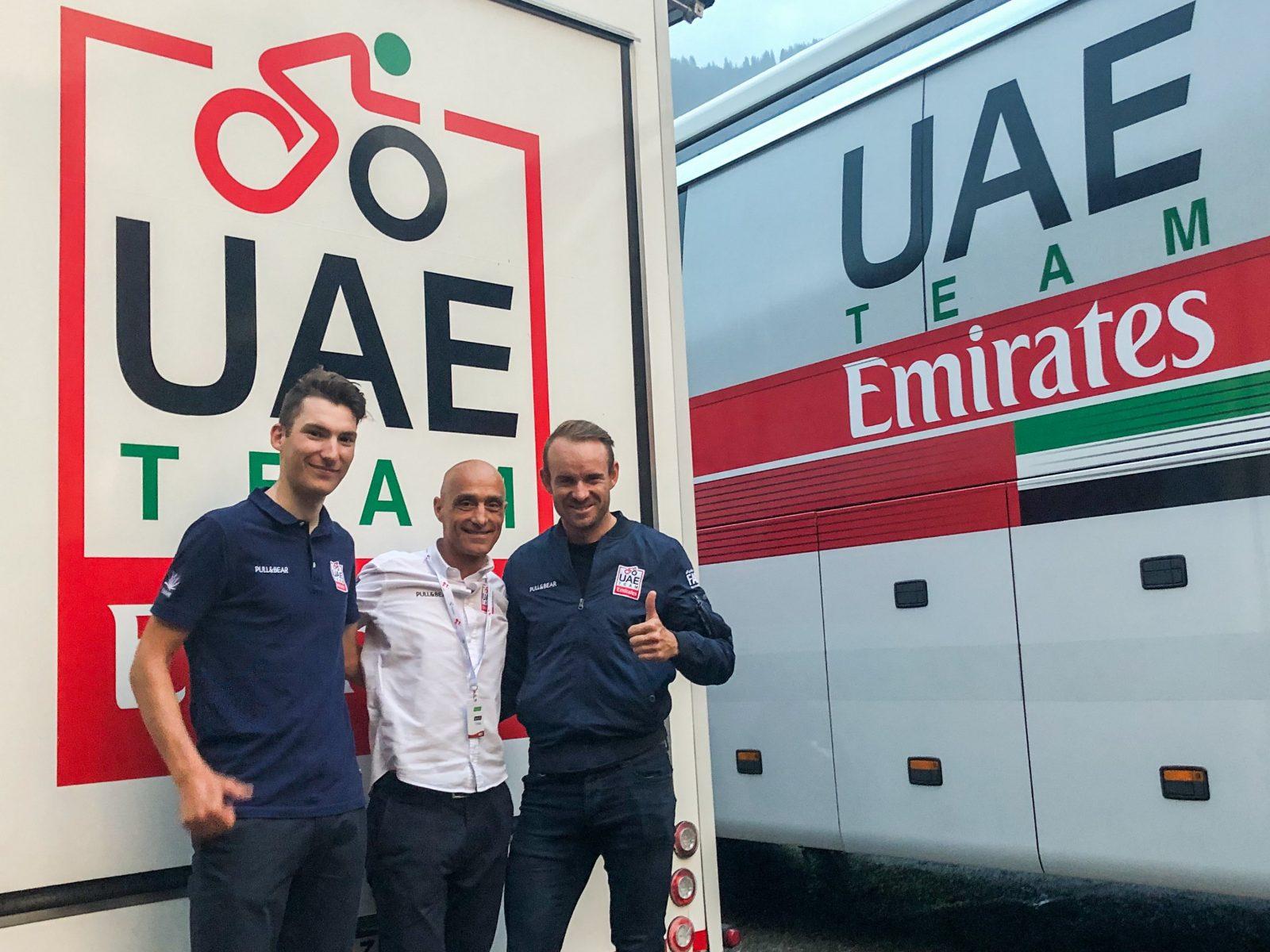 Los dos corredores noruegos seguirán dos temporadas más en el UAE.