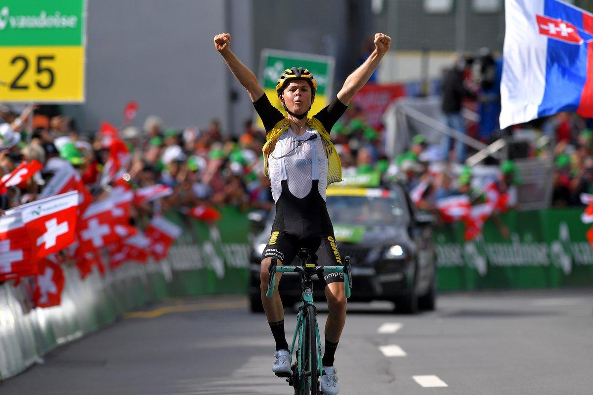 Tolhoek se impuso en la sexta etapa del Tour de Suiza.