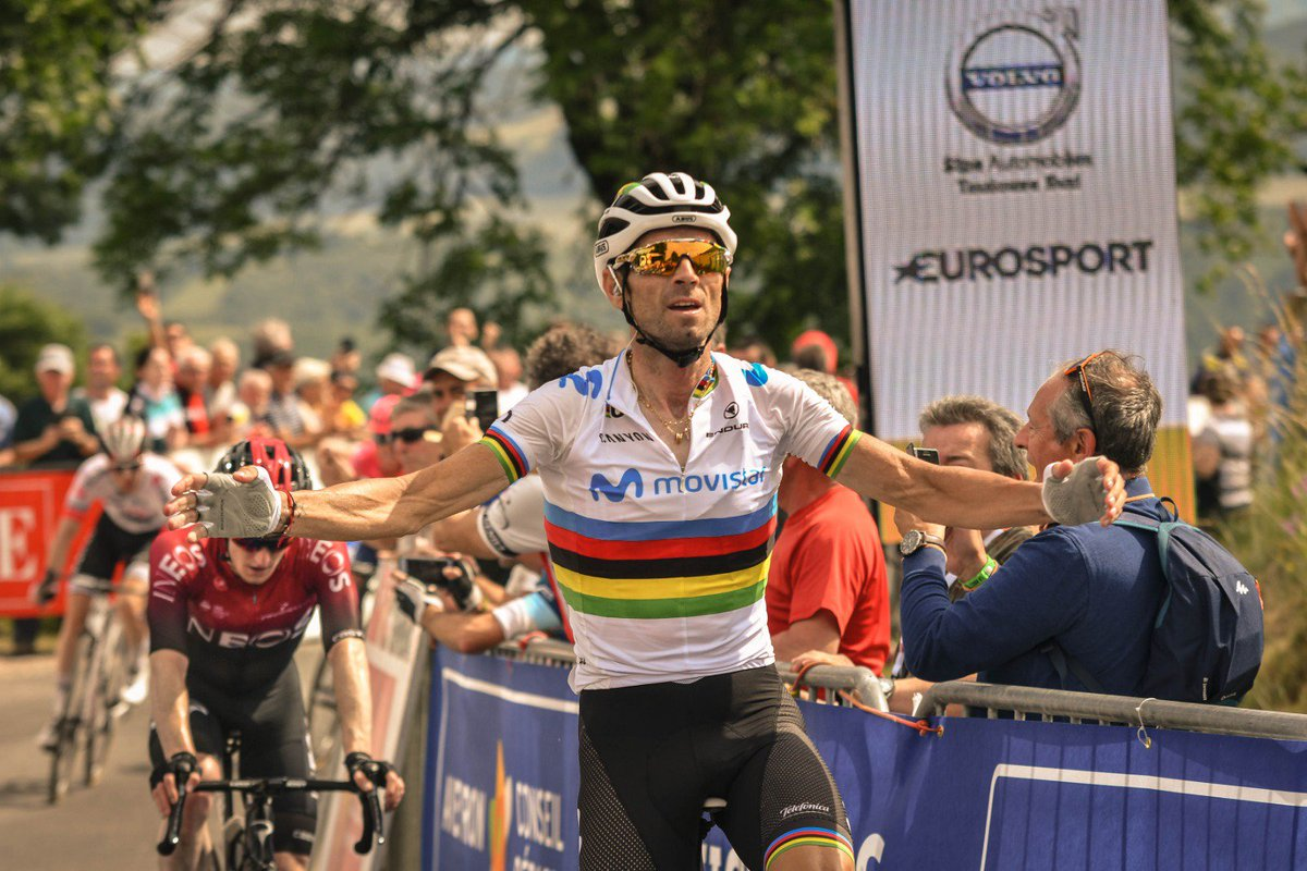 Valverde vuelve tras la lesión ganando la primera etapa de la Ruta de Occitania.