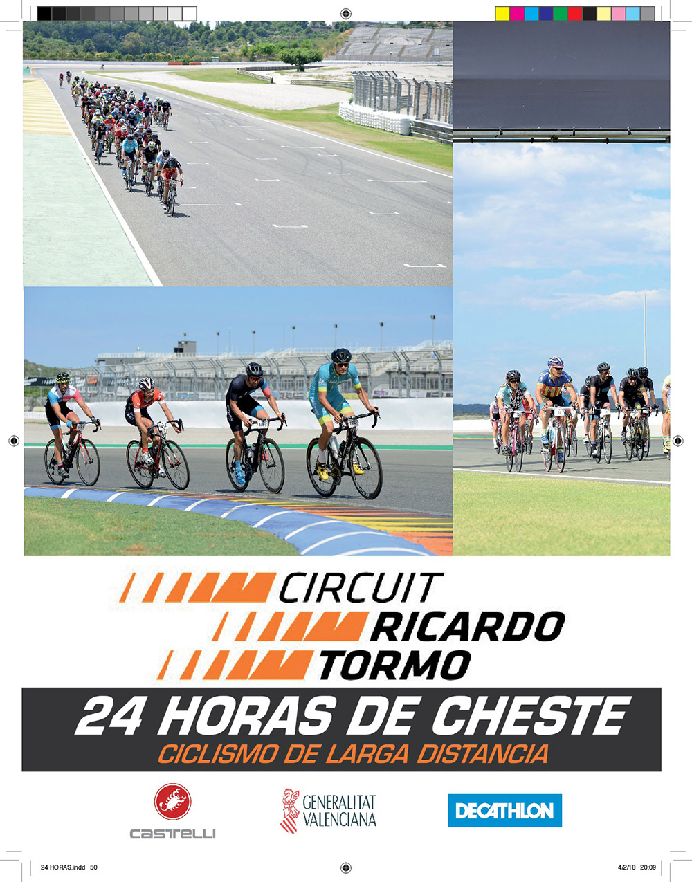 Cartel 24 horas Cyclo Circuit