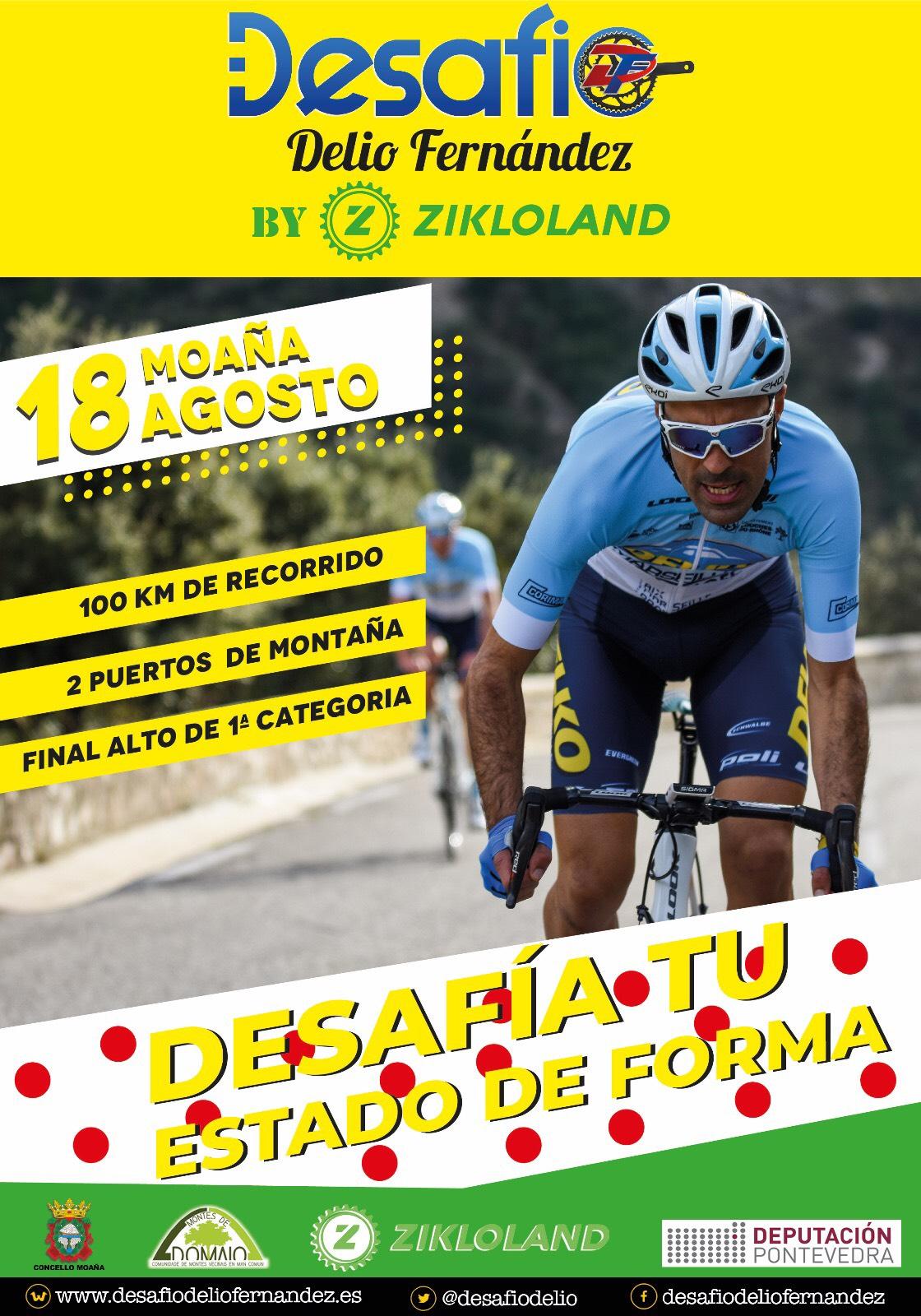 Cartel Desafío Delio Fernández by Zikloland