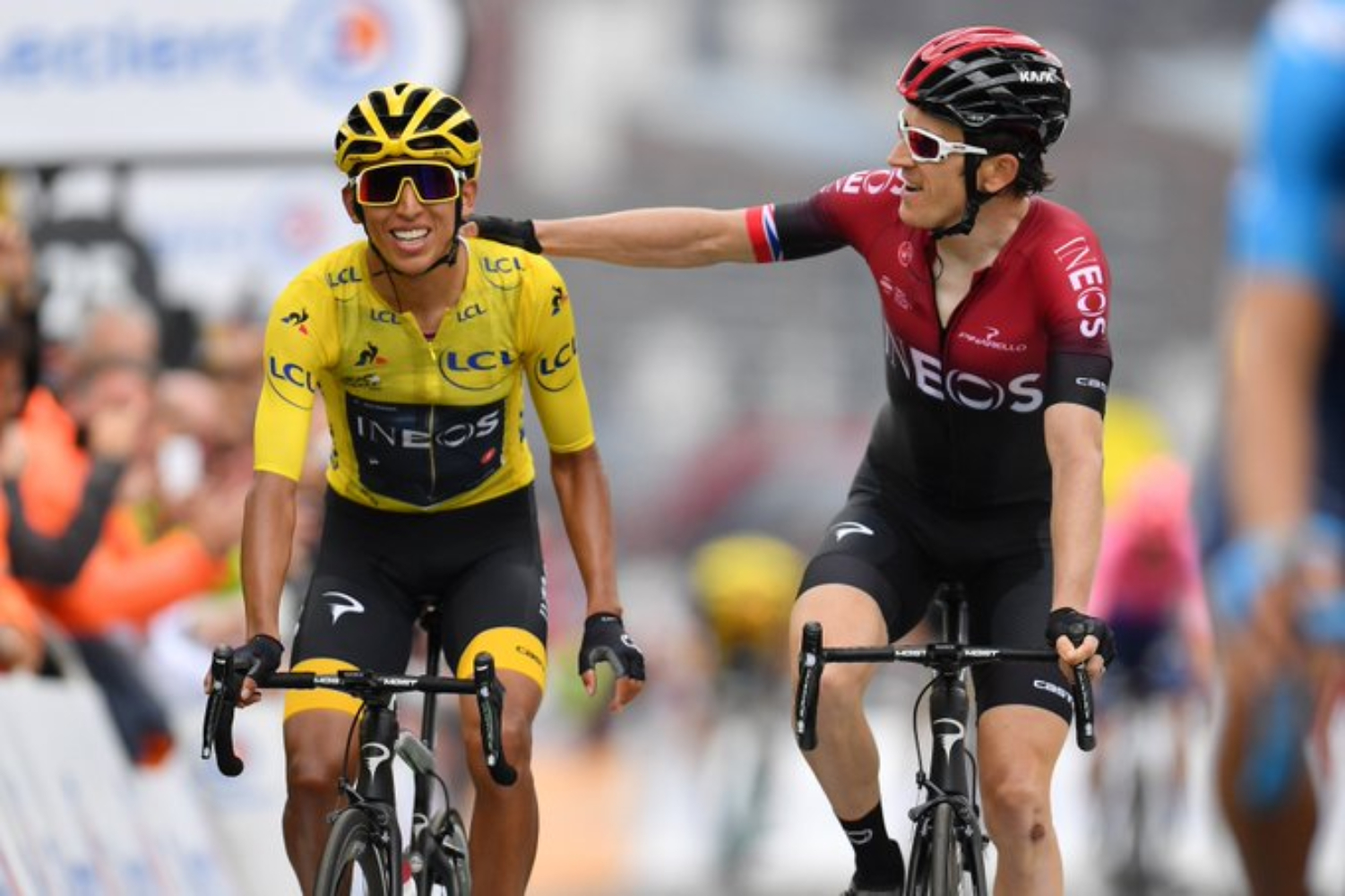 Egan Bernal, Geraint Thomas, Tour de Francia 2019