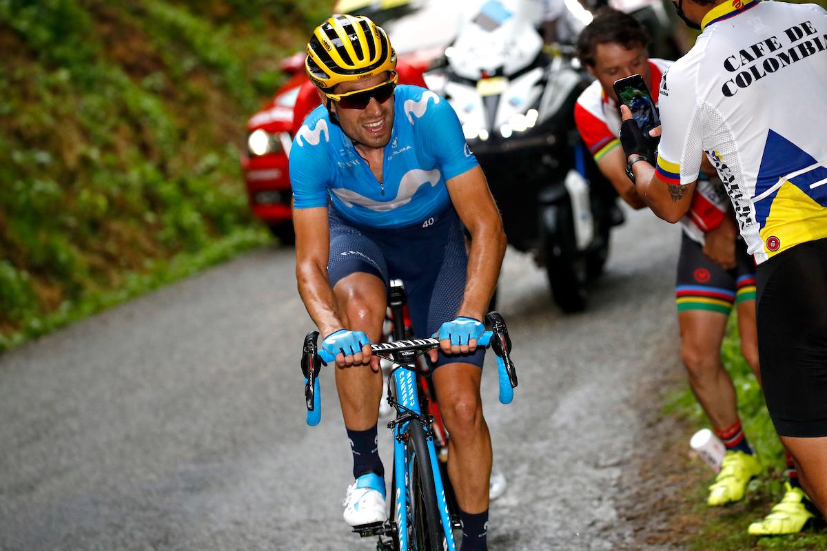 Mikel Landa. 2019 Tour de France. Stage 15: Limoux - Prat d'Albis. 21.7.2019.
