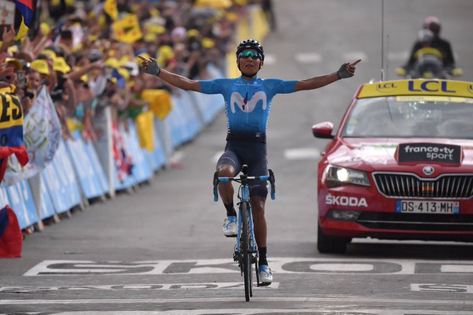 Nairo Quintana ganó la decimoctava etapa del Tour de Francia.
