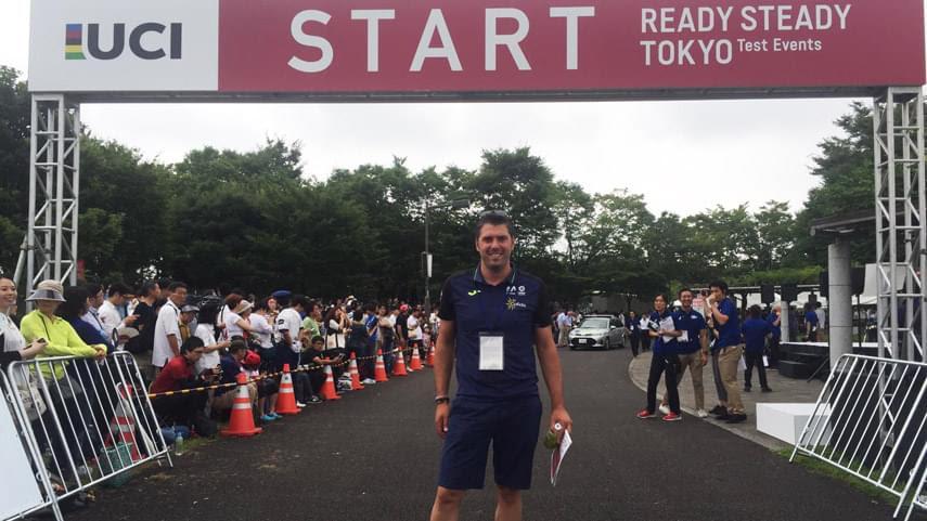 Momparler recogió sus primeras impresiones sobre Tokio 2020.