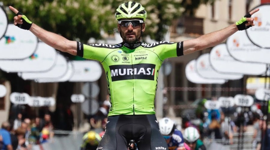 Enrique Sanz ha logrado las cinco victorias del Euskadi Murias.