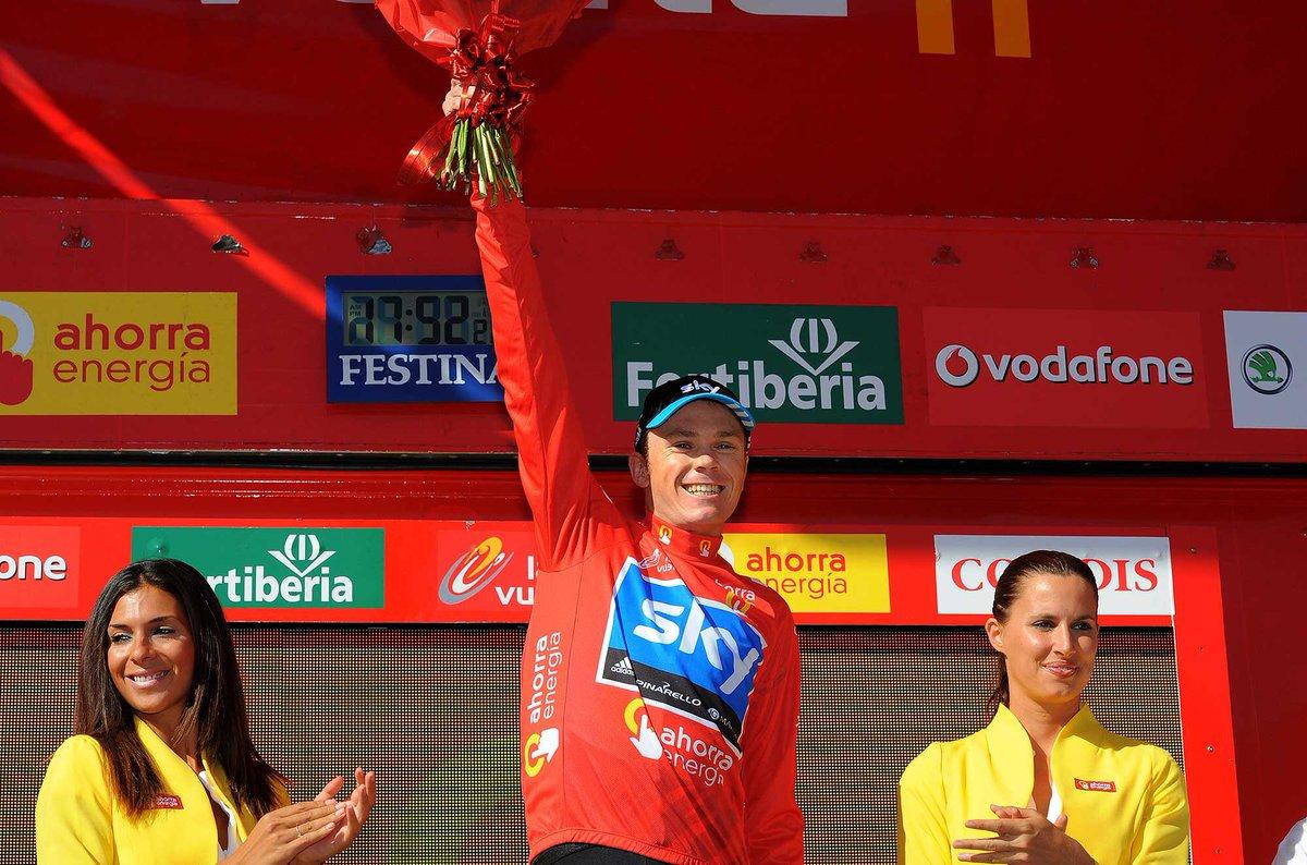 Froome, ganador de la Vuelta a España 2011.
