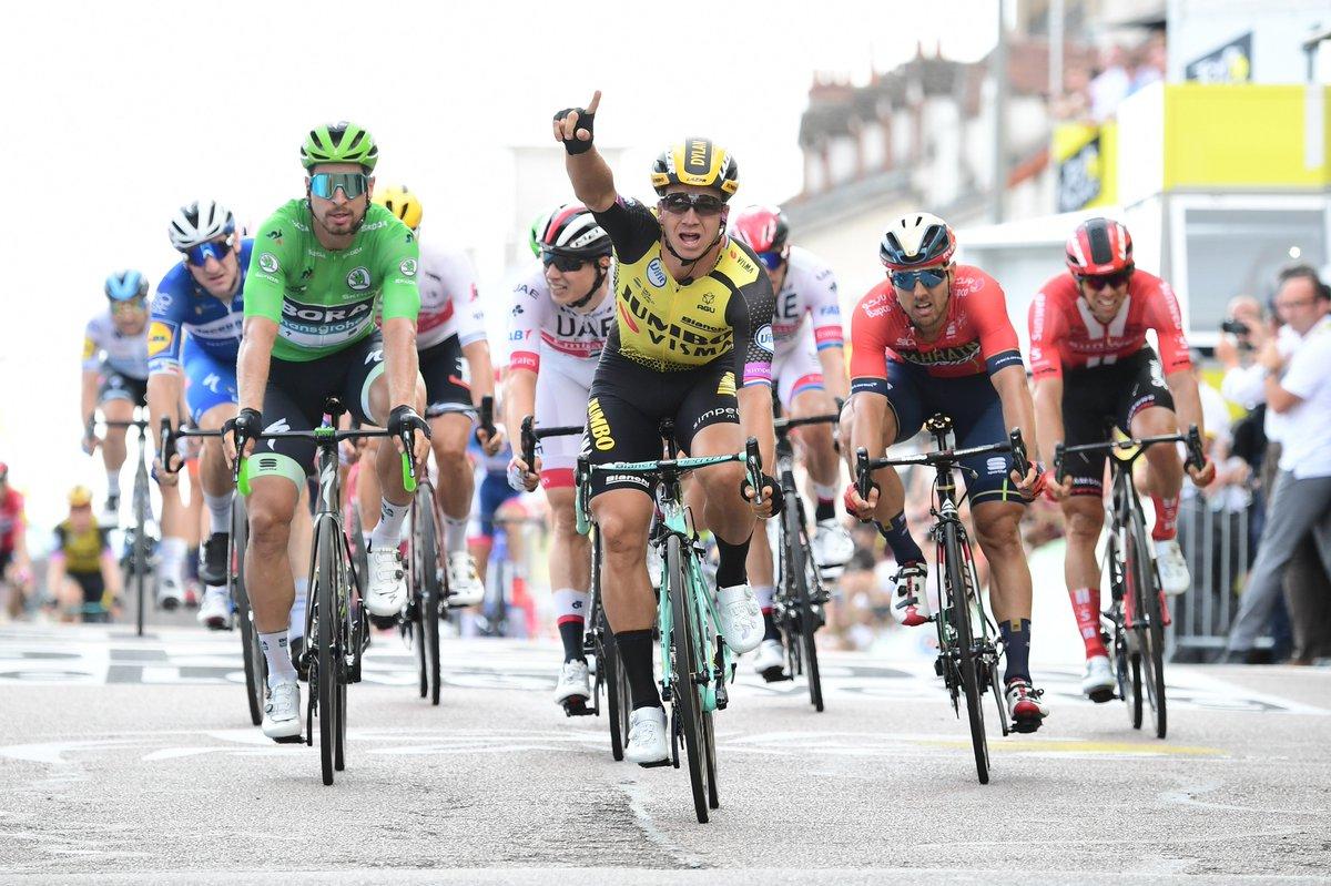 Groenewegen ganó la séptima etapa del Tour de Francia.