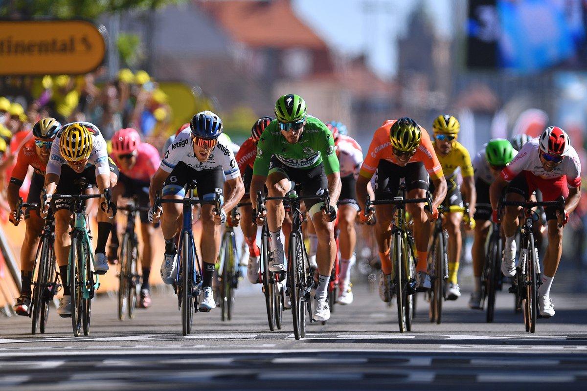 Peter Sagan venció la quinta etapa del Tour de Francia.