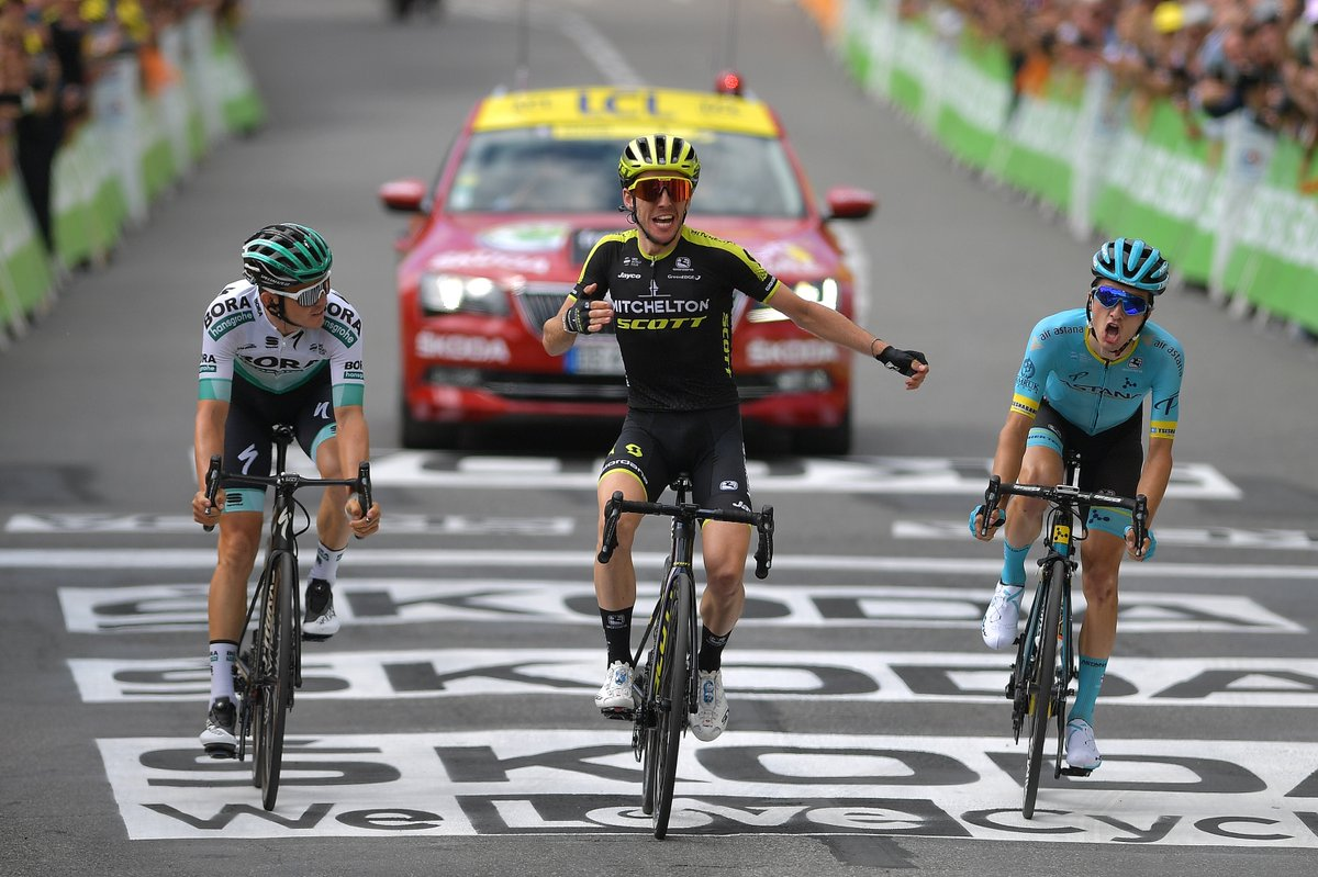 Simon Yates ganó la duodécima etapa del Tour de Francia.