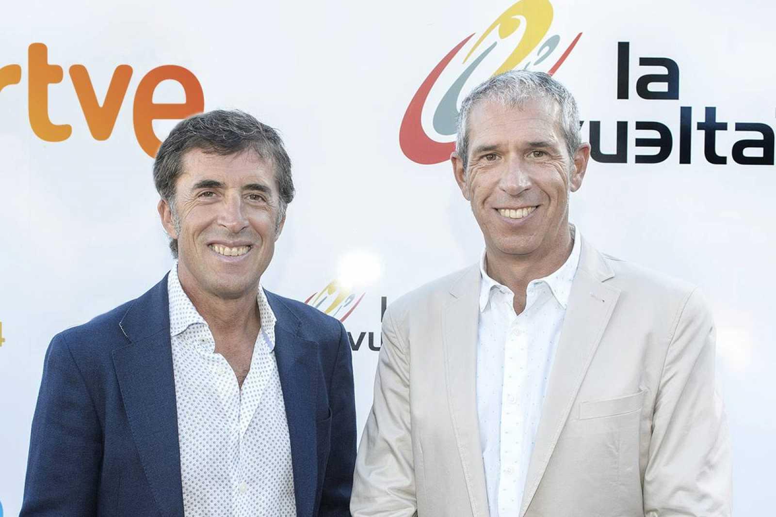 TVE Carlos de Andrésy Pedro Delgado