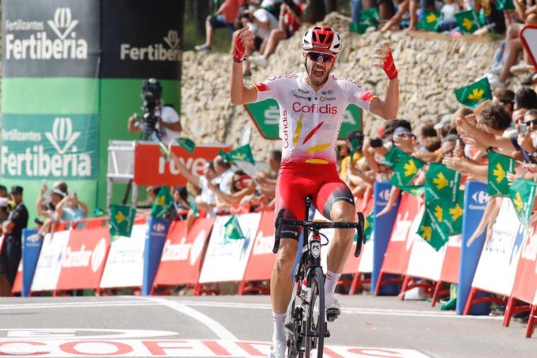 Jesús Herrada, uno de los ciclistas destacados del Cofidis Solutions Credits.