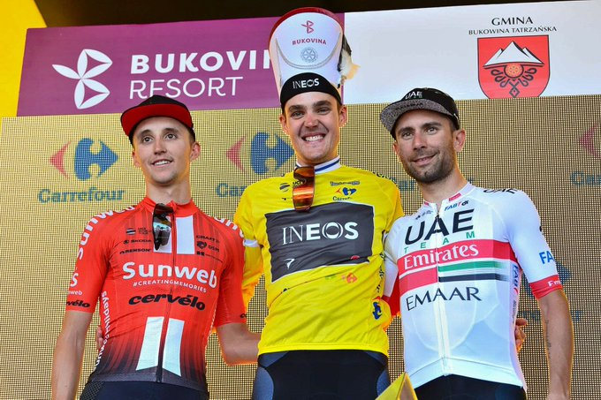 podio tour de polonia