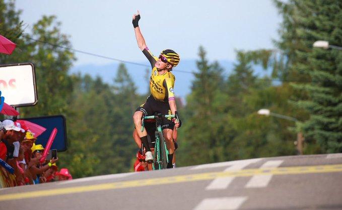 Jonas Vingegaard ganó la sexta etapa del Tour de Polonia.