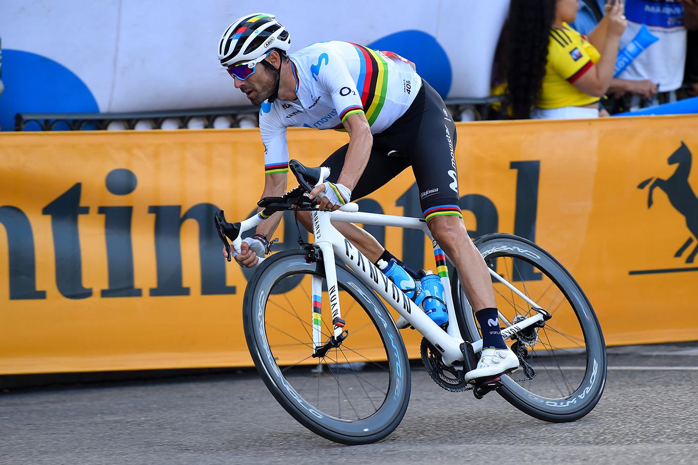 Vuelta Espana 2019 - 74th Edition - 21th stage Fuenlabrada - Madrid 106,6 km - 15/10/2019 - Alejandro Valverde (ESP - Movistar Team) - photo Dario Belingheri/BettiniPhoto©2019