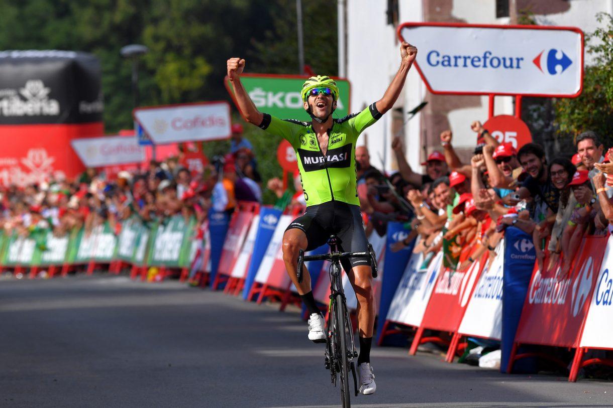 Mikel Iturria ganó la undécima etapa de la Vuelta a España 2019.