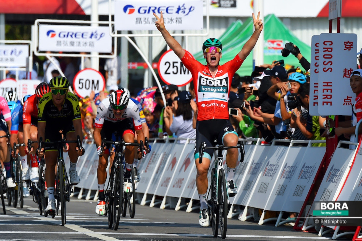 Tour of Guangxi 2019 - 3rd Edition - 3rd stage Nanning - Nanning 143 km - 19/10/2019 - Pascal Ackermann (GER - Bora - Hansgrohe) - photo Dario Belingheri/BettiniPhoto