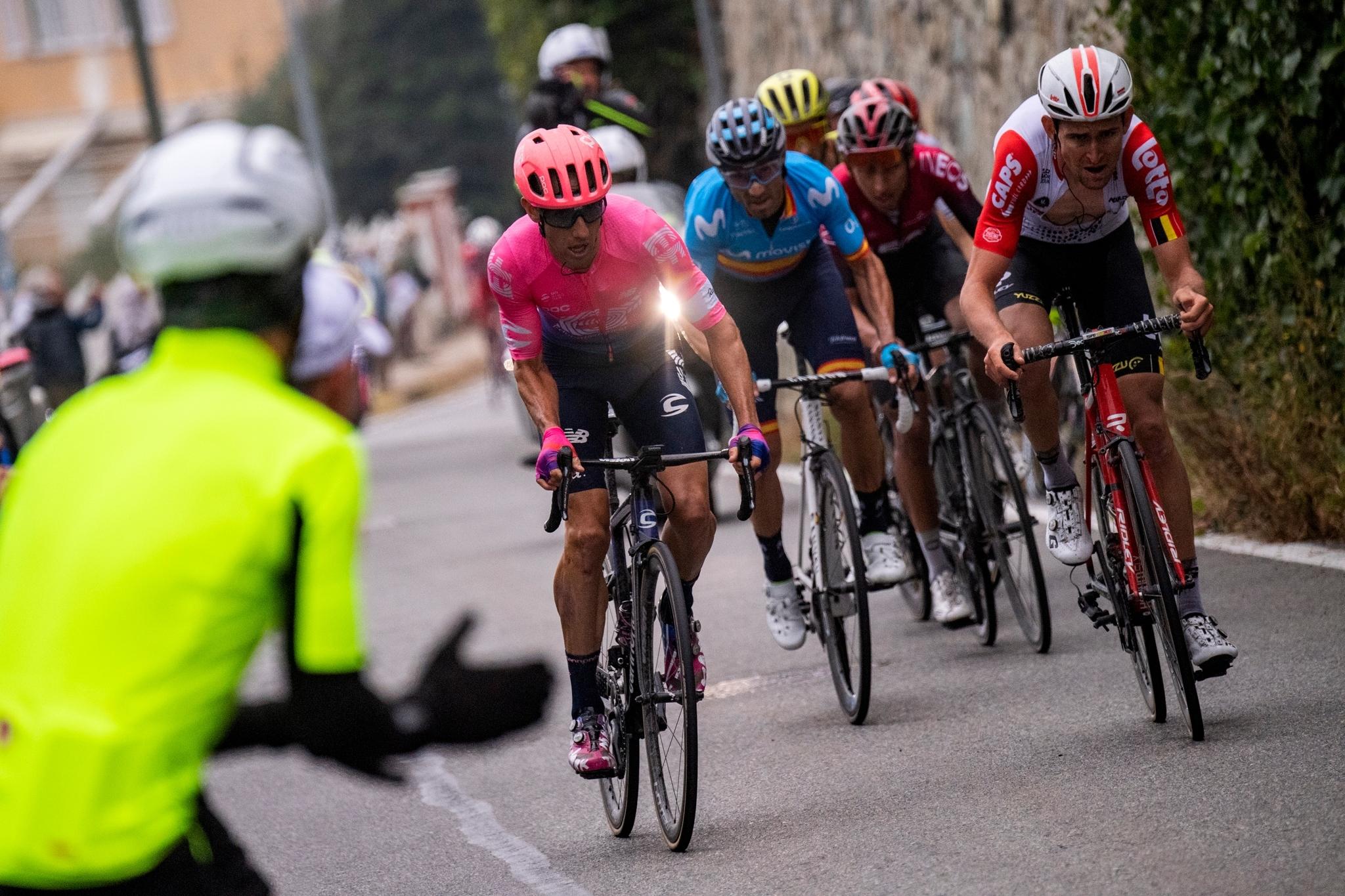Foto LaPresse - Marco Alpozzi09/10/2019 Torino (Italia)Sport CiclismoMilano-Torino 2019 - Edizione 100 - Magenta (Milano) -Superga 179 km Nella foto:Photo LaPresse - Marco AlpozziOctober 10, 2018 Turin ( Italy ) Sport CyclingMilano-Torino 2019 - Edition 100 - Magenta (Milano) -Superga 179 km In the pic: