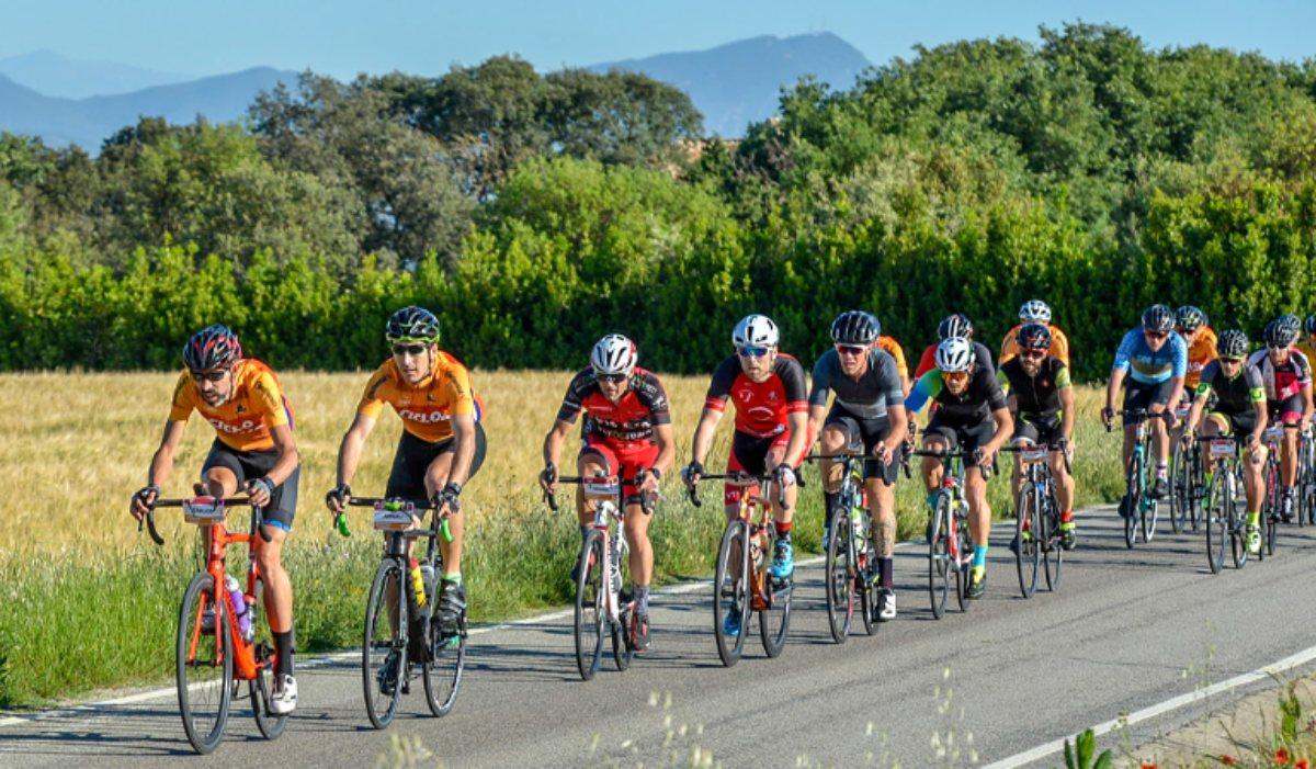 Los cicloturistas podrán elegir entre dos recorridos.