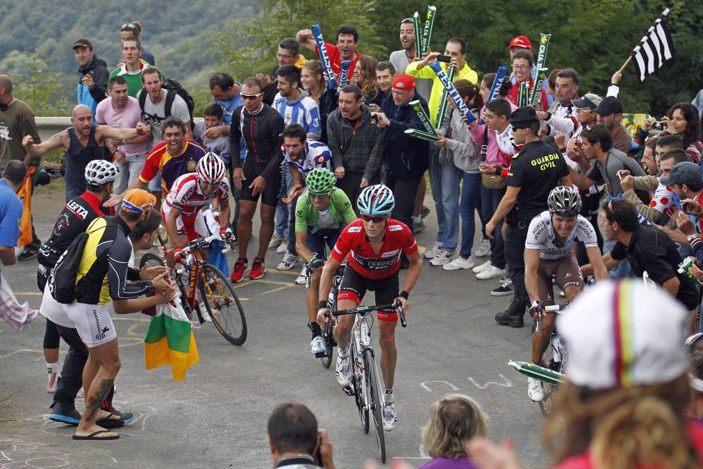 L'Angliru posible llegada en alto de La Vuelta 2020