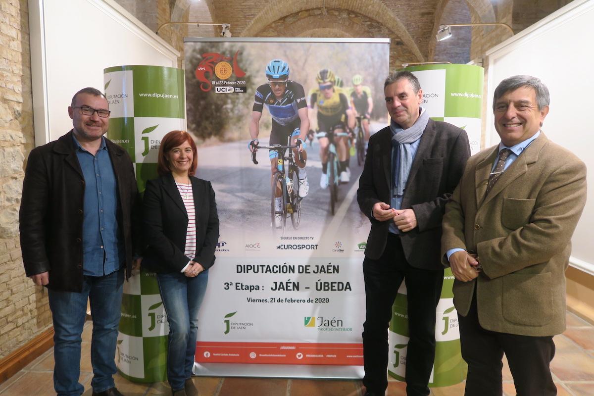 Presentación de la tercera etapa de la Vuelta a Andalucía.