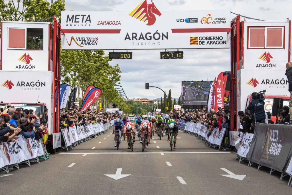 La Vuelta a Aragón no se correrá después de dos años seguidos disputándose.