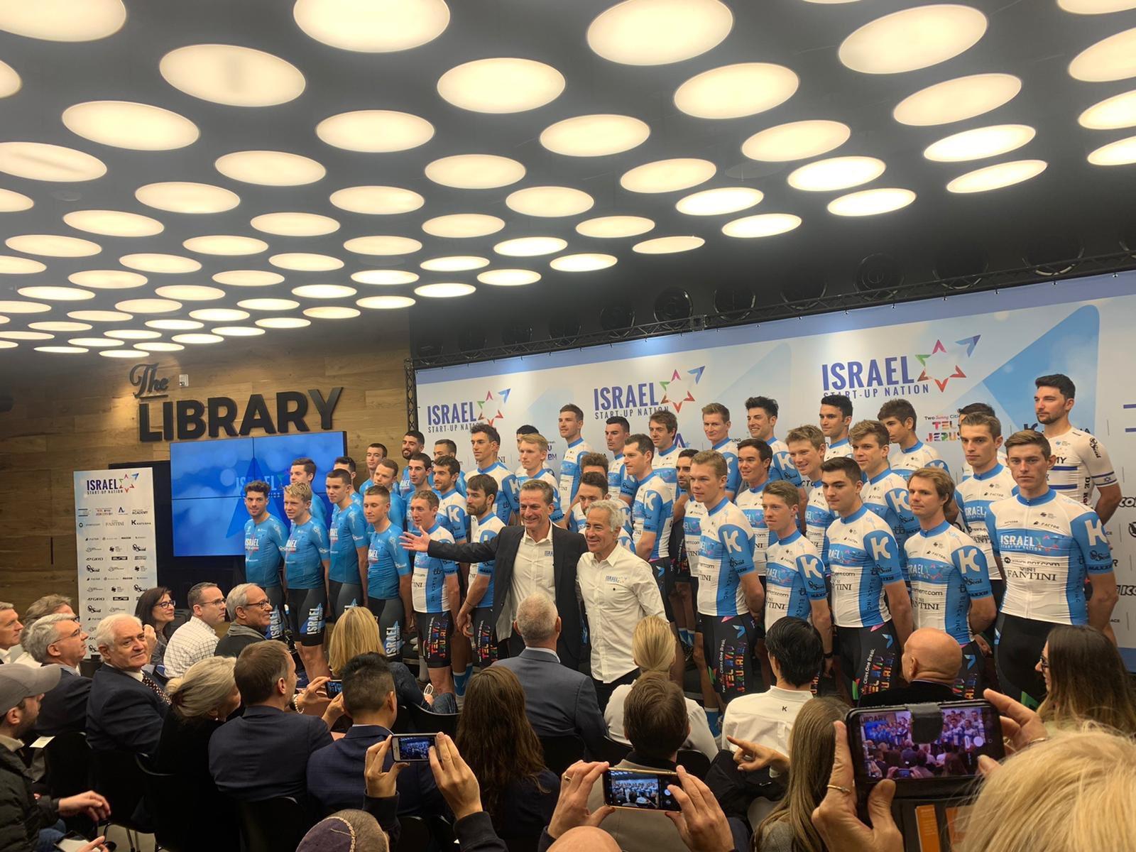 El Israel debutará como equipo World Tour en 2020.
