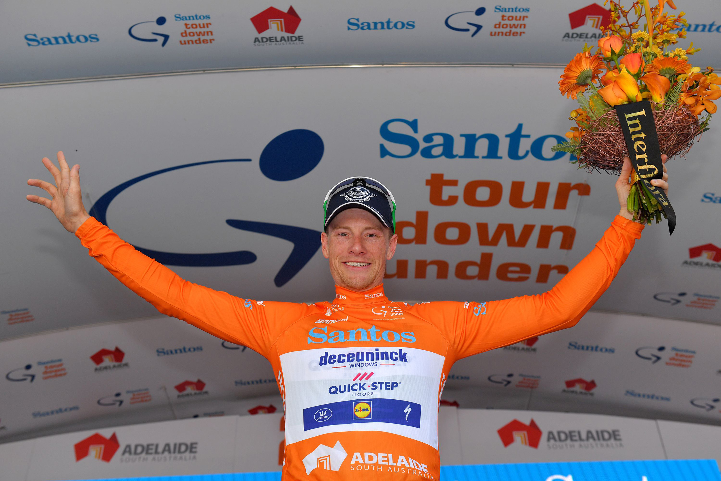 Sam Bennett gana la primera etapa del Tour Down Under