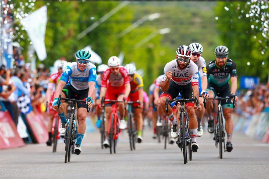 Fernando Gaviria logra su segunda victoria en la Vuelta a San Juan