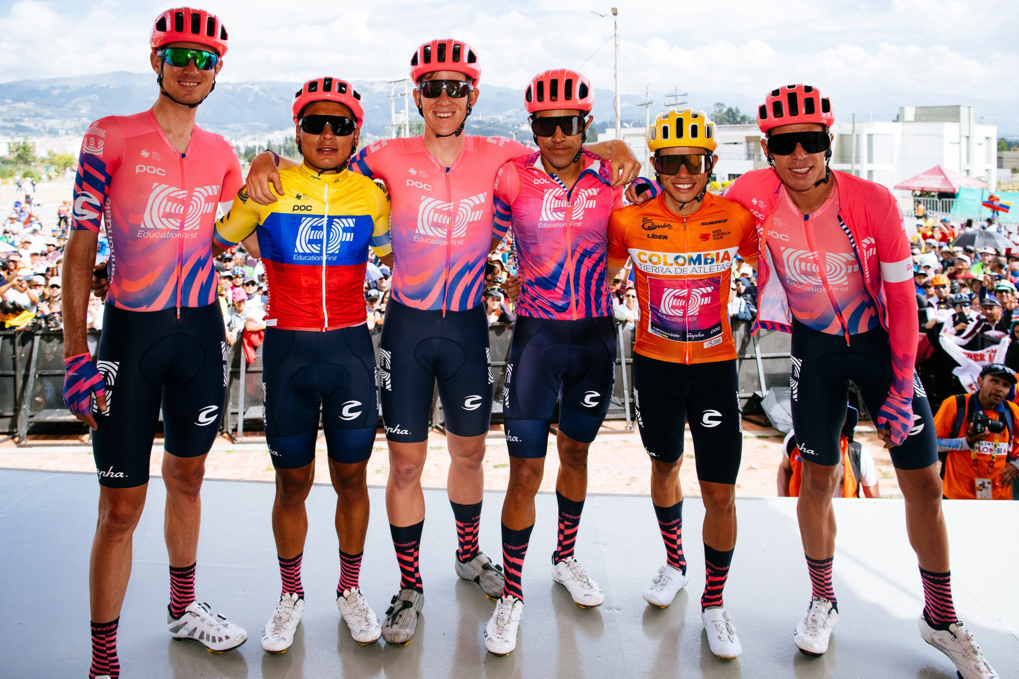 Triplete del EF Cycling Team en el Tour de Colombia 2.1