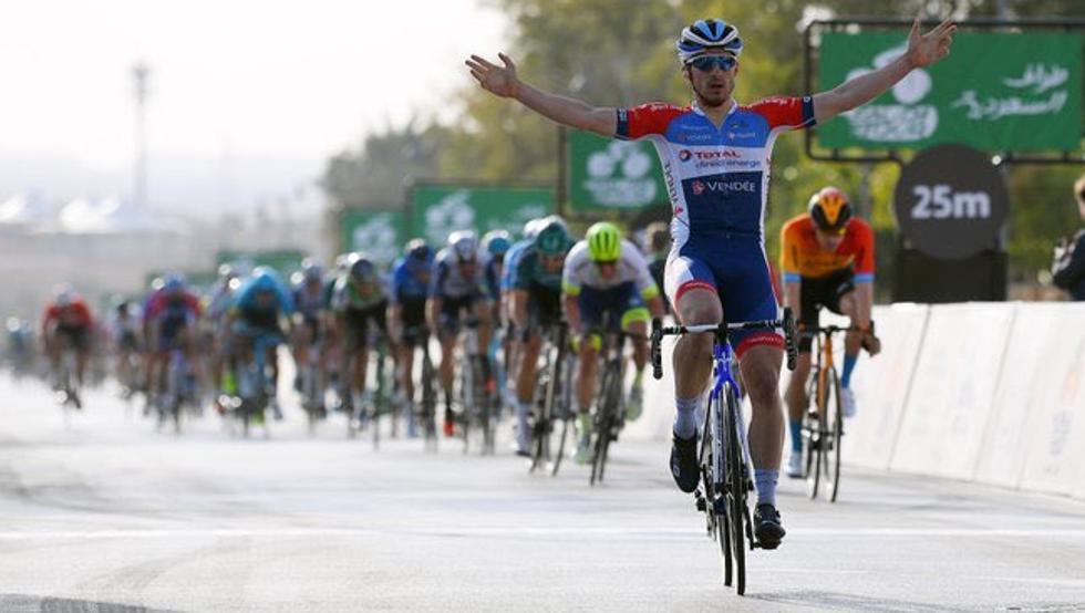 Niccolò Bonifazio logra la primera victoria del año para el Total Direct Energie