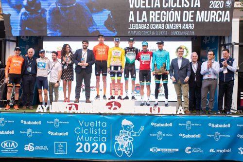 Clasificación etapa 2 Vuelta a la Región de Murcia 2020