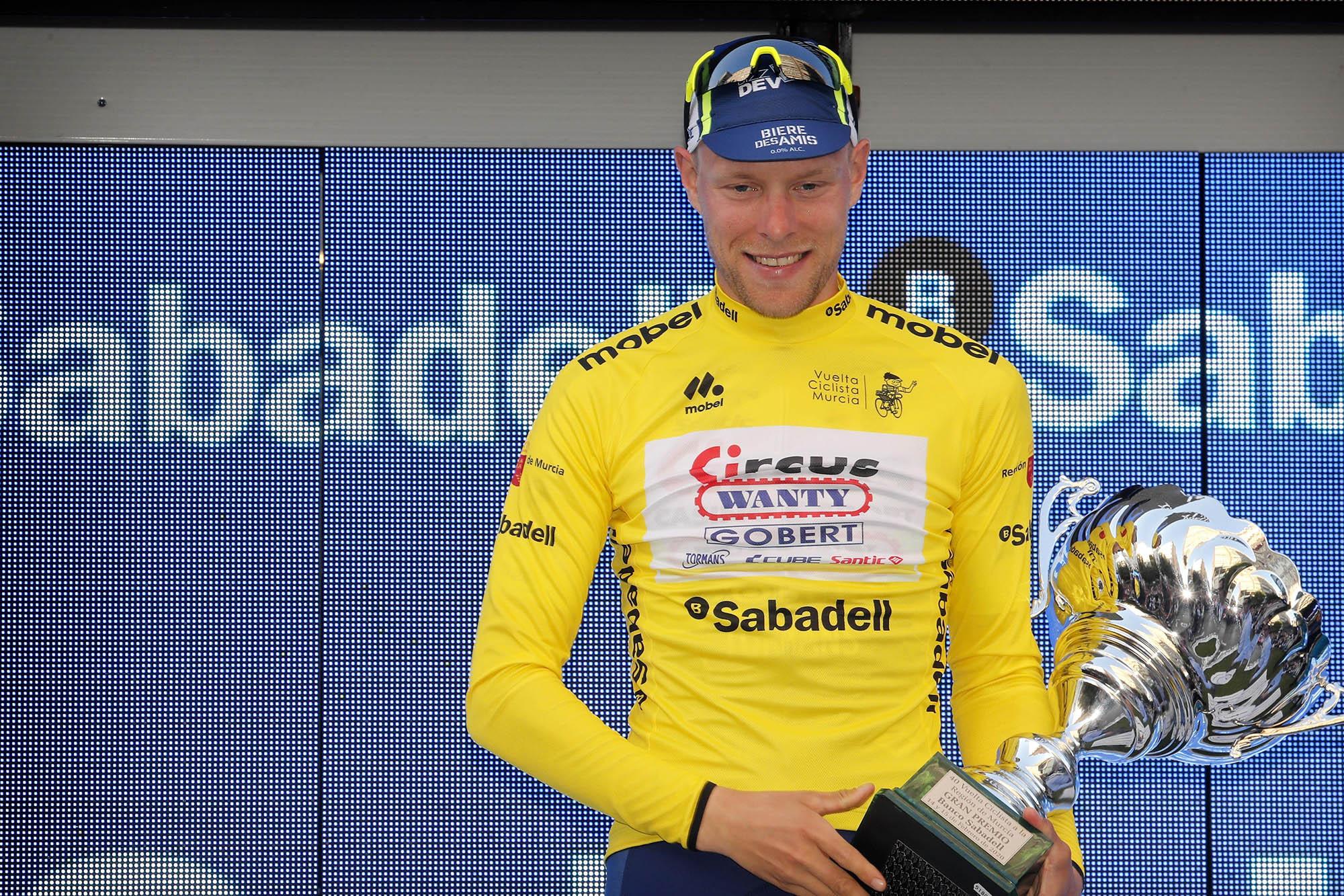 Xandro Meurisse logra su victoria más importante en la Vuelta a Murcia