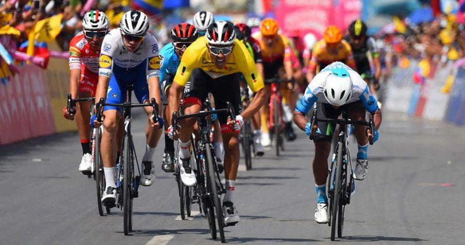 Juan Sebastián Molano hace doblete en el Tour de Colombia 2.1