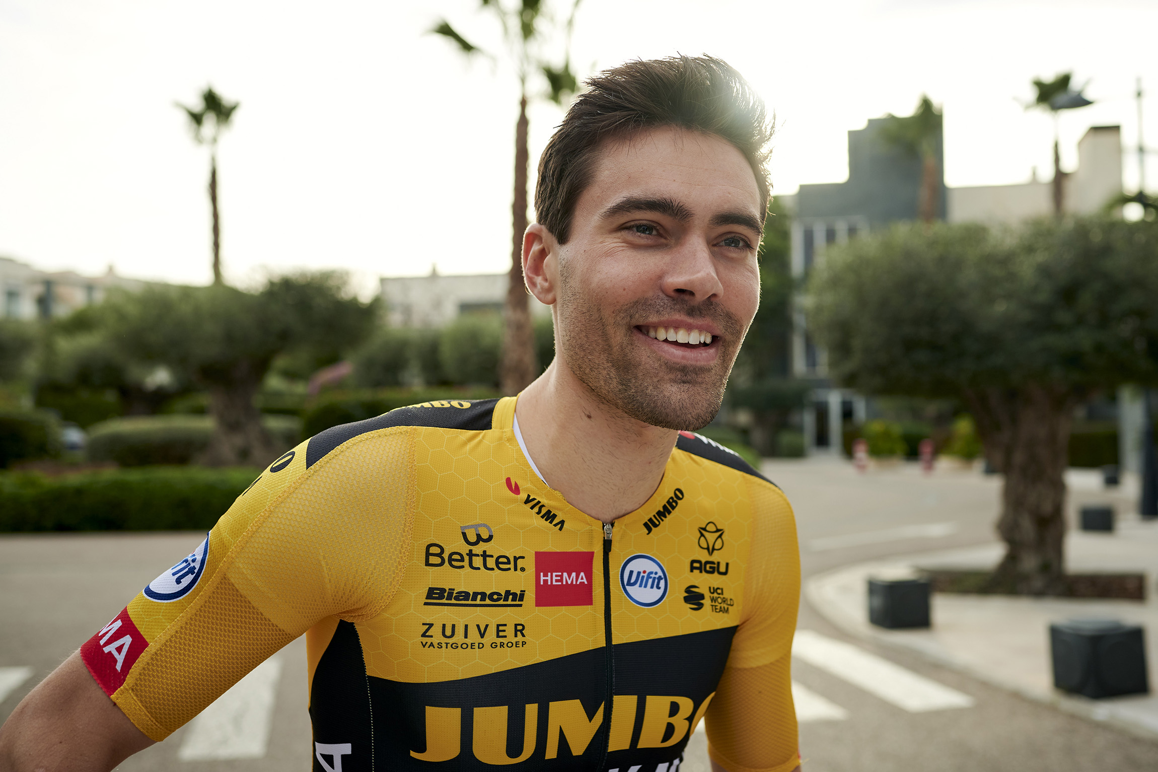 Tom Dumoulin con parásitos en su intestino retrasa su debut con el Jumbo Visma