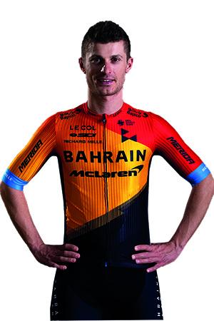 Enrico Battaglin Bahrain McLaren 2020
