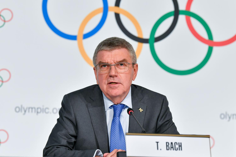 Presidente del COI, Thomas Bach Foto: IOC/CHRISTOPHE MORATAL