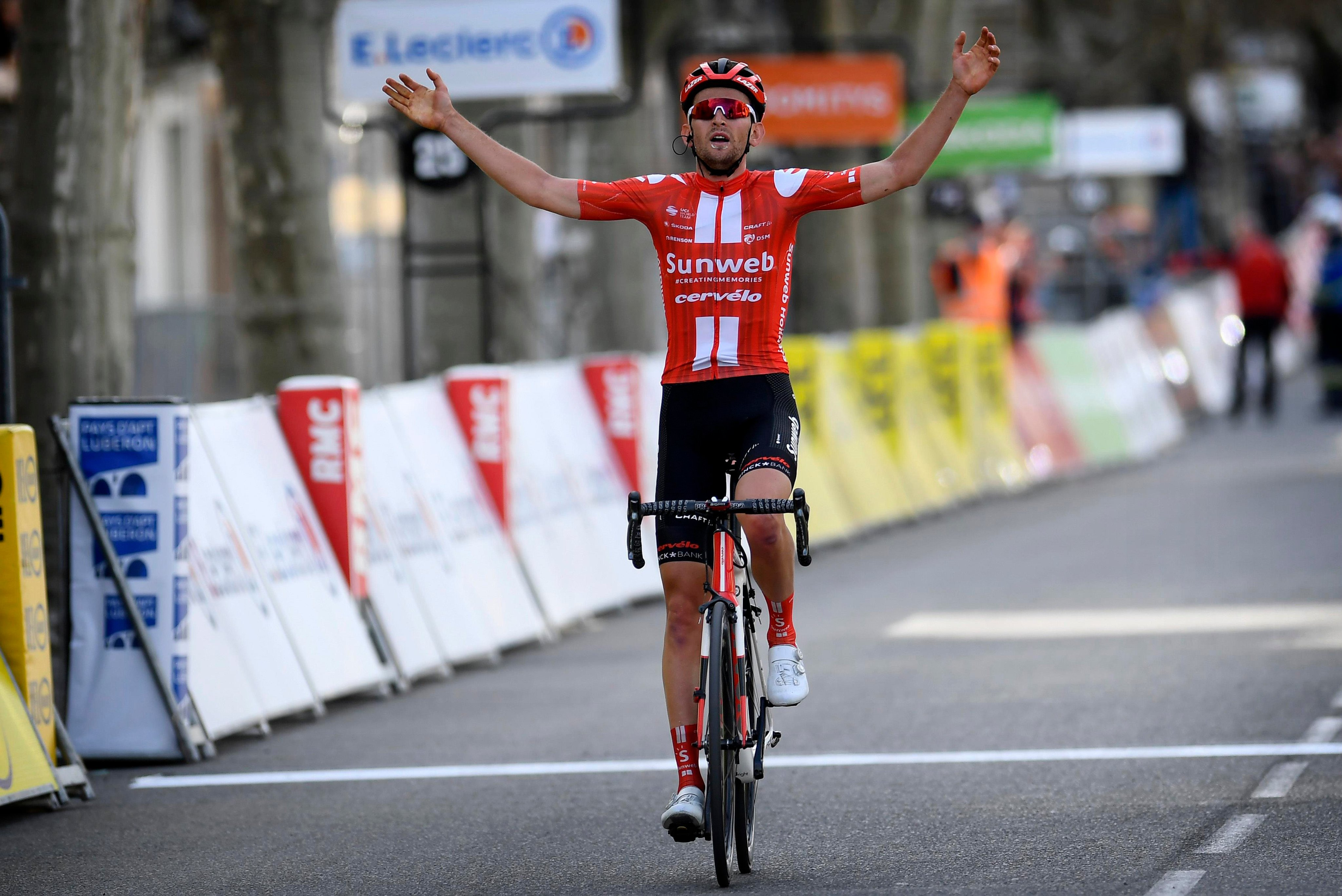 Tiesj Benoot ganó la sexta etapa de la París -Niza.