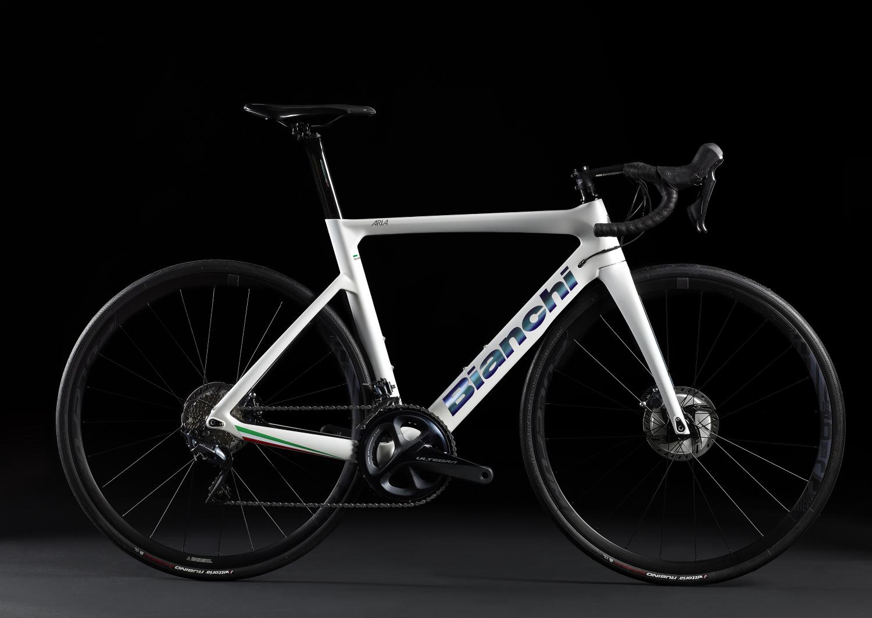 Bicicleta de Bianchi Aria Bianco Italia