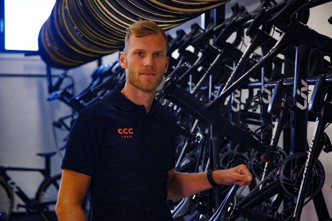 Lars Boom llega al CCC como gerente de rendimiento.