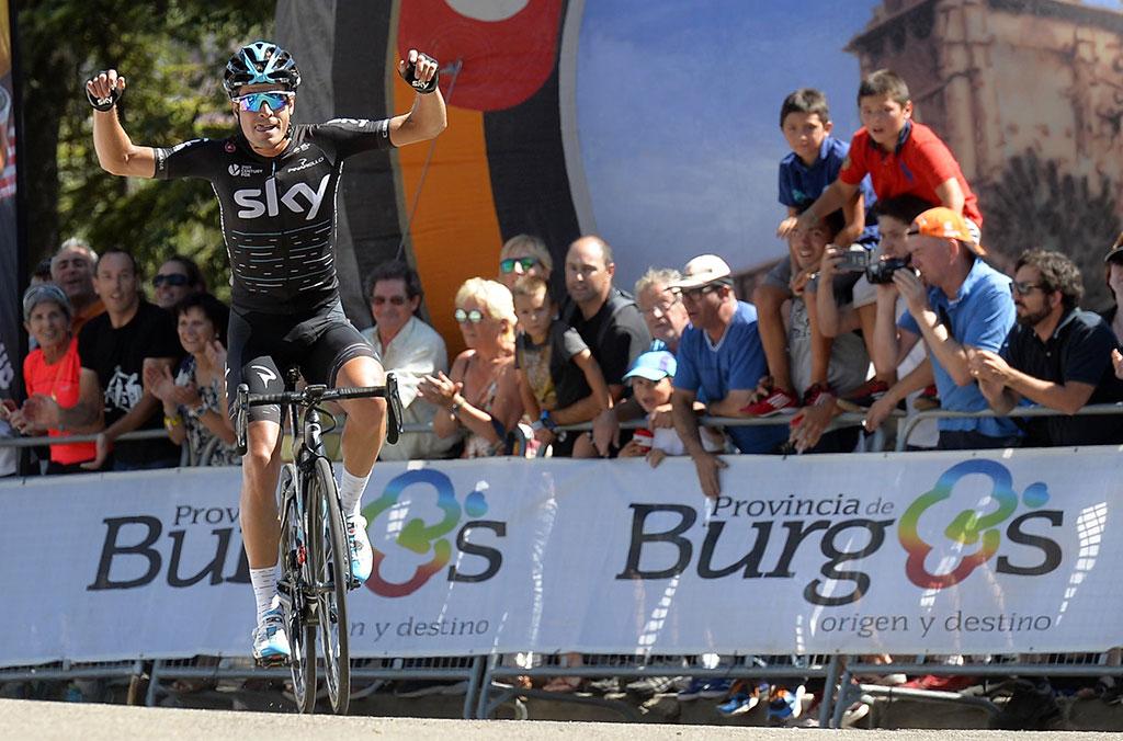 Mikel Landa ganó la Vuelta a Burgos 2017.
