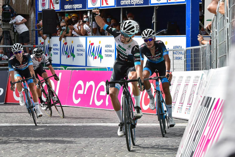 Alejandro Ropero logra la victoria en la primera etapa del Giro de Italia sub23 2020
