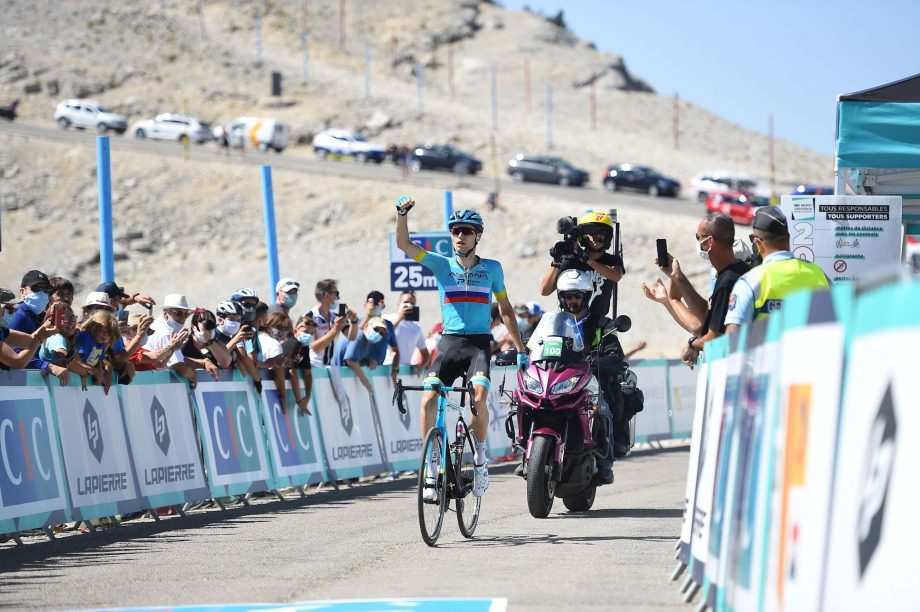 Aleksandr Vlasov ganó en el Mont Ventoux (SYLVAIN THOMAS/AFP)