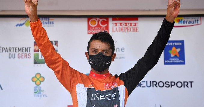 Egan Bernal ganó su primera Ruta de Occitania.