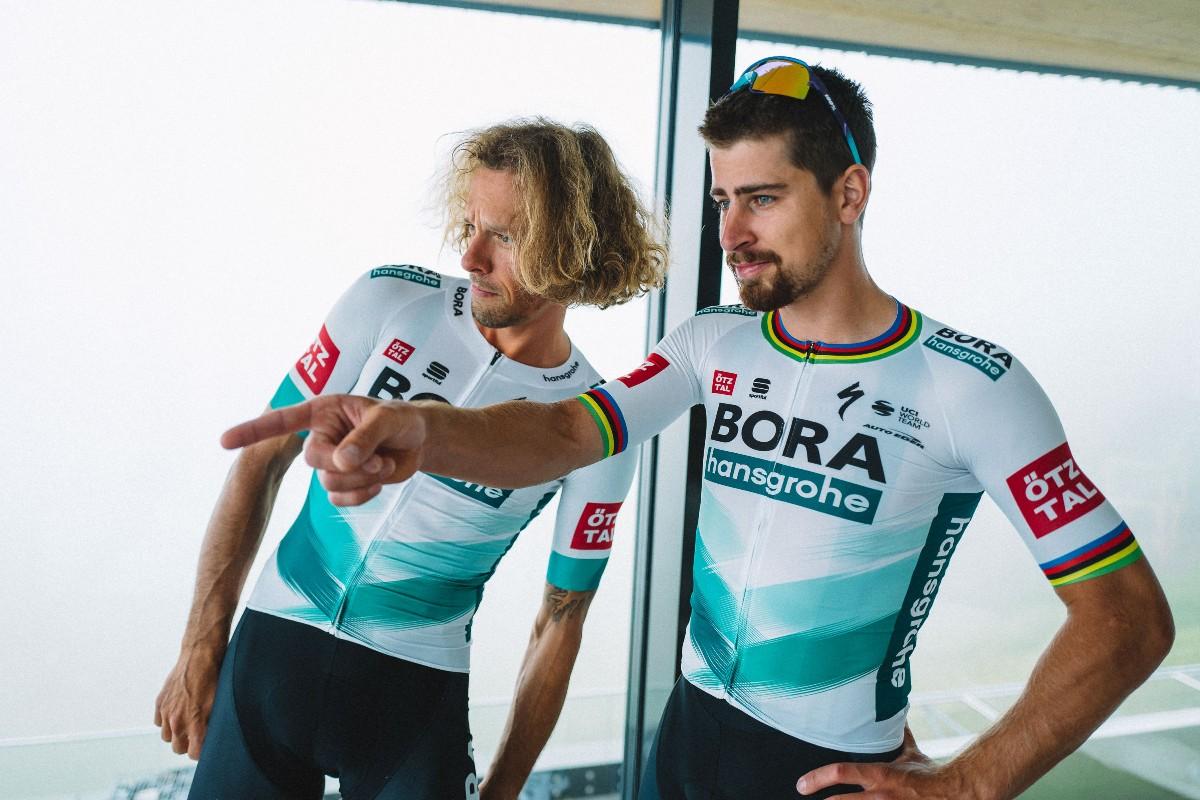 El maillot que vestirá el BORA en el Tour de Francia (Christof Kreutzer & Chiara Redaschi).